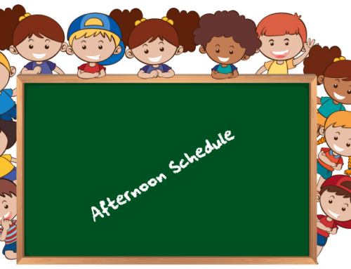 Afternoon Schedule